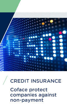 Credit insurance : Coface protect companies against non-payment