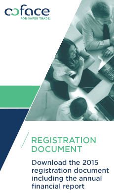 Coface announces the publication of its 2015 Registration Document