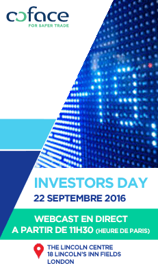 Coface Investor Day - September 22nd 2016