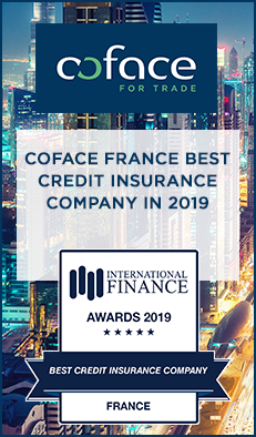 Coface France is recognized as the Best Credit Insurance Company in 2019 by International Finance Magazine